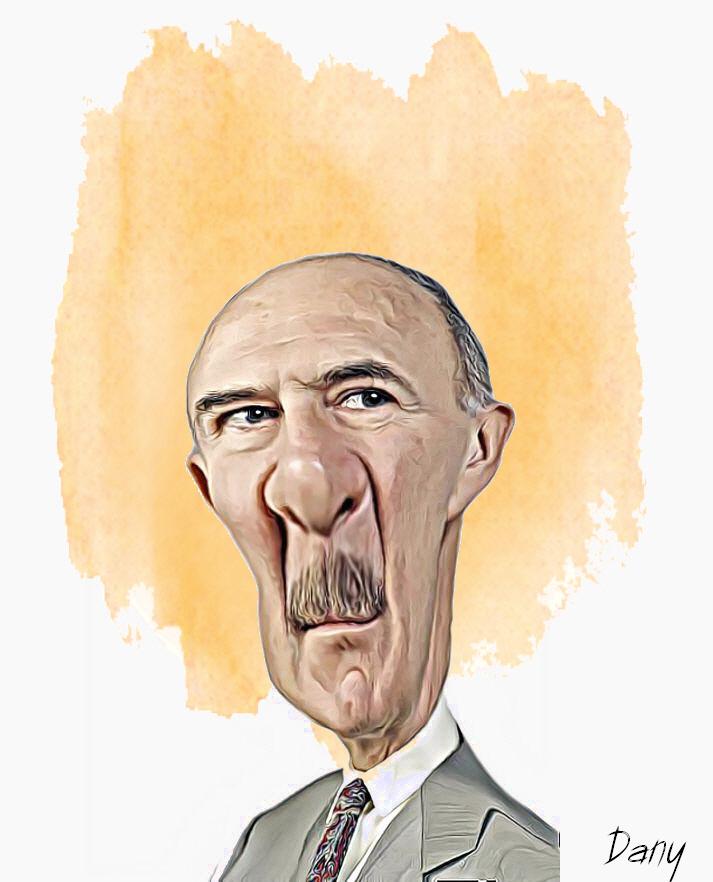 Photos Humour : Caricature Jean-Pierre Marielle