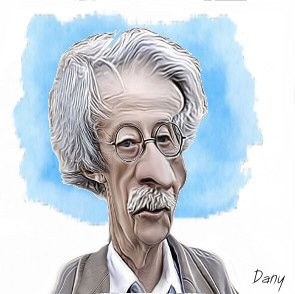 Photos Humour : Caricature Jean Rochefort
