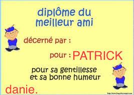 Photos Humour : Pour toi Patrick