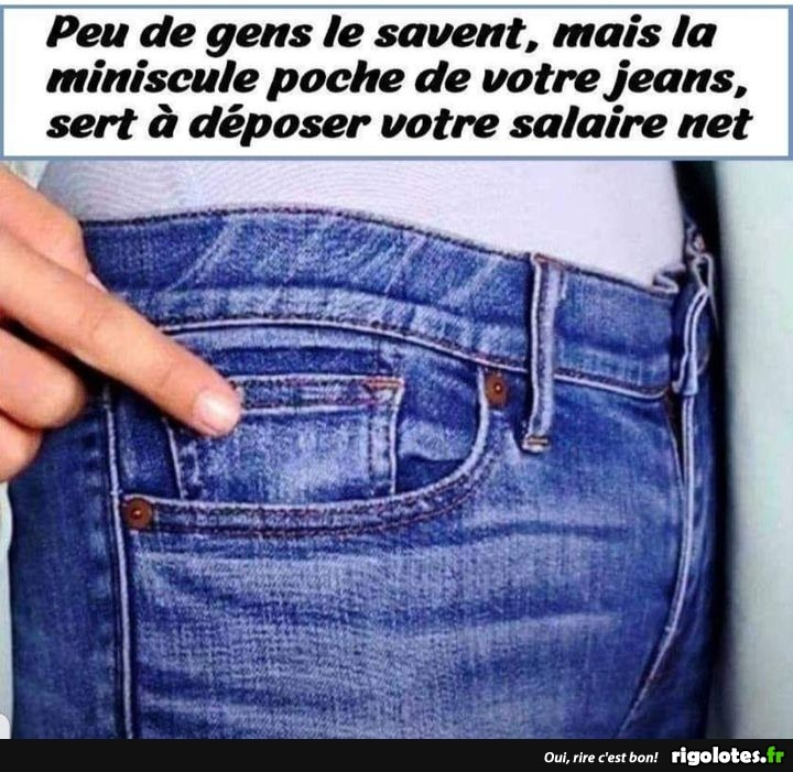 Photos Humour : salaire net