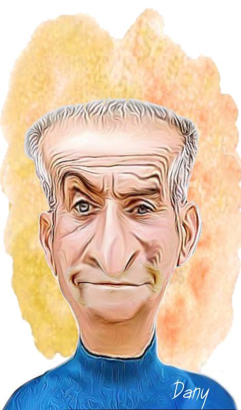 Photos Humour : Caricature Louis de Funès