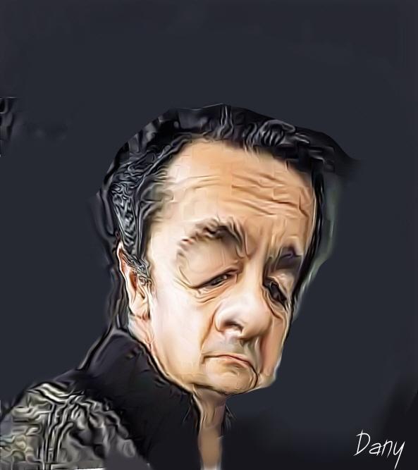 Photos Humour : Caricature Serge Reggiani