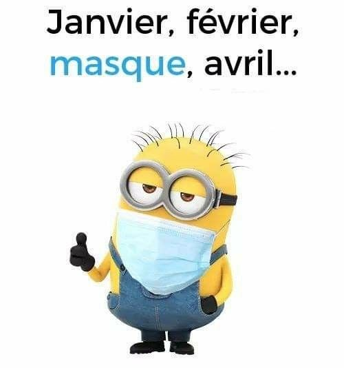 Photos Humour : Masque  Hé oui