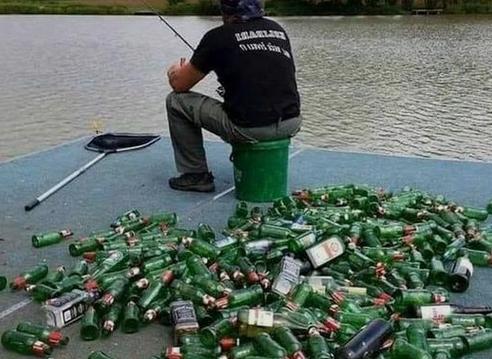 Photos Humour : quand la pêche n