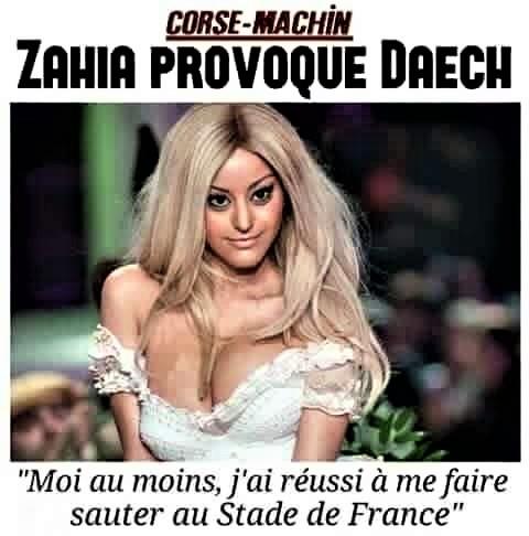 Photos Humour : zahia