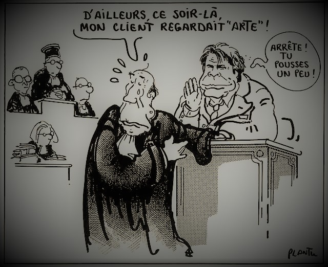 Photos Humour : bonne defense